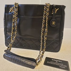 Vintage Chanel Tote shoulder bag
